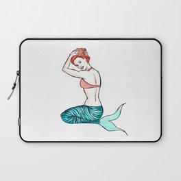 Tiger Mermaid Laptop Sleeve
