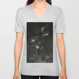 The first look. Unisex V-Neck