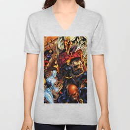 x-man and friends Unisex V-Neck