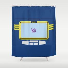 Soundwave Transformers Minimalist Shower Curtain
