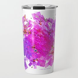 """Butterflies And Confetti"" Travel Mug"