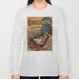 Constantinople Italian vintage book advertisement Long Sleeve T-shirt