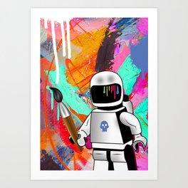 space painting Art Print