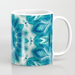 Flower Of Life Mandala (Ocean's Secret) Coffee Mug