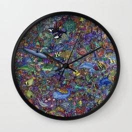 The Ocean Wall Clock