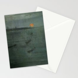 Nocturne - Blue and Gold, Southampton Water by James McNeill Whistler Stationery Cards
