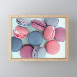 Berry Macarons Photograph Framed Mini Art Print