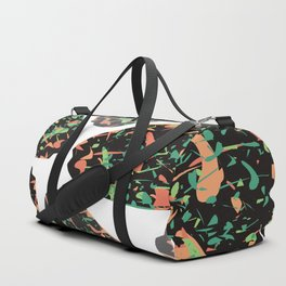Abstract leaves Duffle Bag