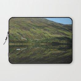 Scottish Highlands Lake Reflection Laptop Sleeve