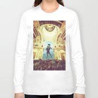 scuba Long Sleeve T-shirts featuring scuba by Caroline A