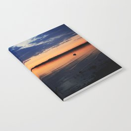 Sunset by the Lake Notebook