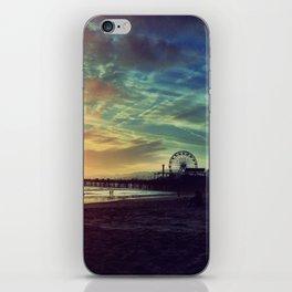 Santa Monica Sunset iPhone Skin