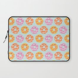 Kawaii Party Rings Biscuits Laptop Sleeve
