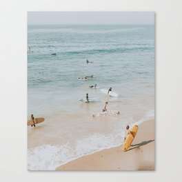 lets surf iii Canvas Print