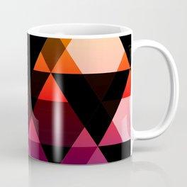 Bright Modern Trangles Coffee Mug