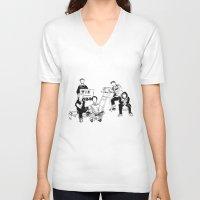 the neighbourhood V-neck T-shirts featuring The neighbourhood: band  by artbysteph
