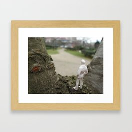 We have come a long way Framed Art Print