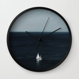 Holiday Sail Wall Clock