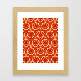 RED FEVER Framed Art Print