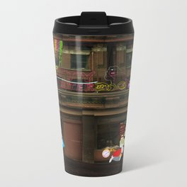 Alice in Crackland Metal Travel Mug