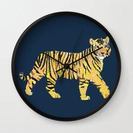 Tiger Tiger Tiger Wall Clock
