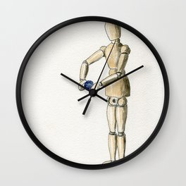 Hungry Mannequin Wall Clock