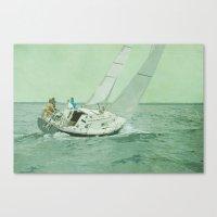 sail Canvas Prints featuring Sail by Mary Kilbreath