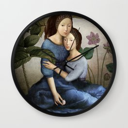 By Your Side Wall Clock