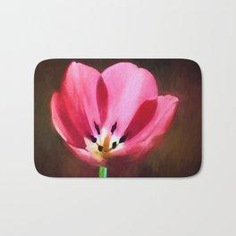 Painted Tulip Bath Mat