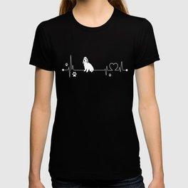 Grand-Basset-Griffon-Vendeen-tshirt,-i-love-Grand-Basset-Griffon-Vendeen-heart-beat T-shirt