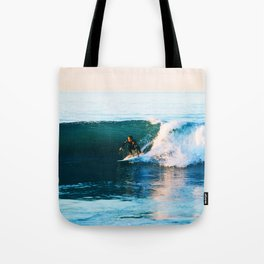 Warm Surf Tote Bag