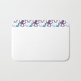 Octo The Octopus and Friends Bath Mat
