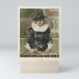 The Graphic Gallery of Shakespeare's Heroines (1896) - Anna Page, from The Merry Wives of Windsor Mini Art Print