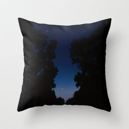The Long Twilight Of Midsummer Nights Throw Pillow
