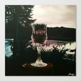 Water and Wine Canvas Print