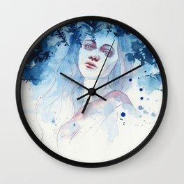 Underneath the moonlight Wall Clock