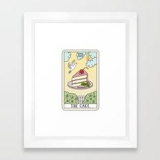 CAKE READING Framed Art Print