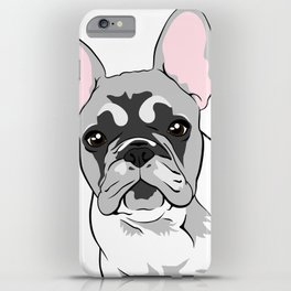 Jersey the French Bulldog iPhone Case