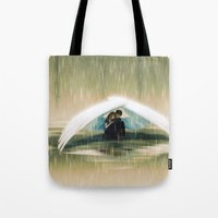 wings Tote Bags featuring Wings by Emmy Cicierega