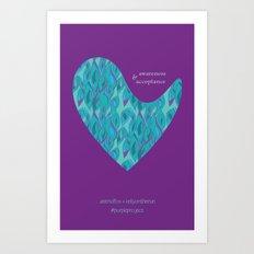 astridfox + kellyontherun project Art Print