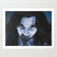 Art Print featuring Iris, 30 Days of Night by Shawn Conn