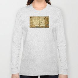 Gustav Klimt - Tree of Life Long Sleeve T-shirt
