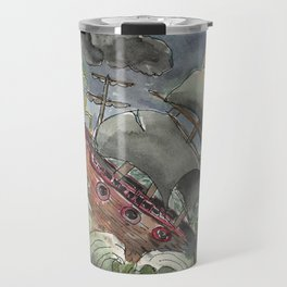 Dark and Stormy Night Travel Mug