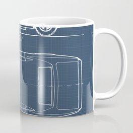 Camaro blueprint Coffee Mug