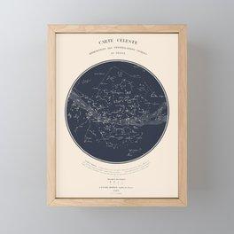 Carte Celeste Framed Mini Art Print