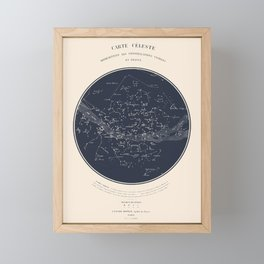 Carte Celeste Framed Mini Art Print