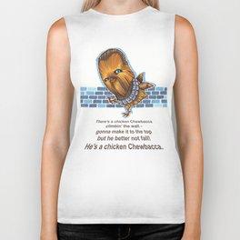 Chicken Chewbacca Biker Tank