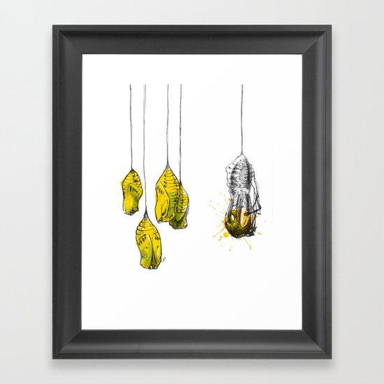 cocoon Framed Art Print