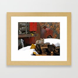 Bobcat Drive Framed Art Print