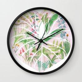 Monstera darlin' Wall Clock